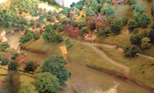 A Model of The Ironbridge Gorge Museum